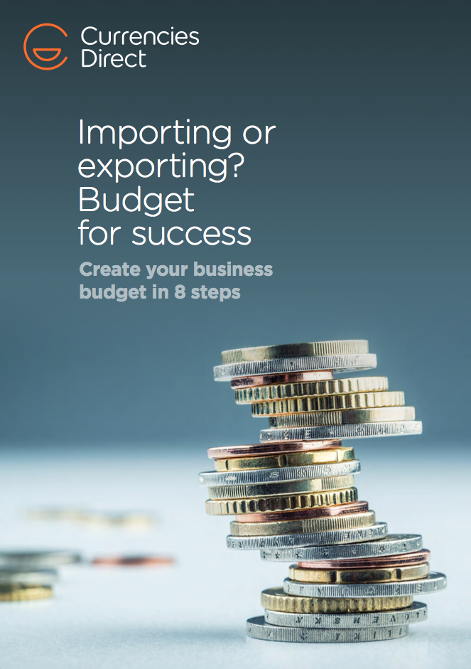 Importing or exporting? Budget for success