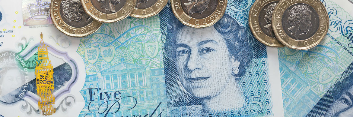 currency-newsPound buoyed by upbeat UK wage figures